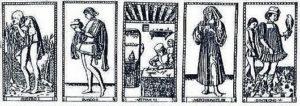 Колода Мантеньи. 1465 год