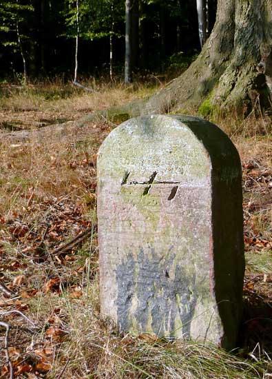 Пограничный камень Волчий Крюк